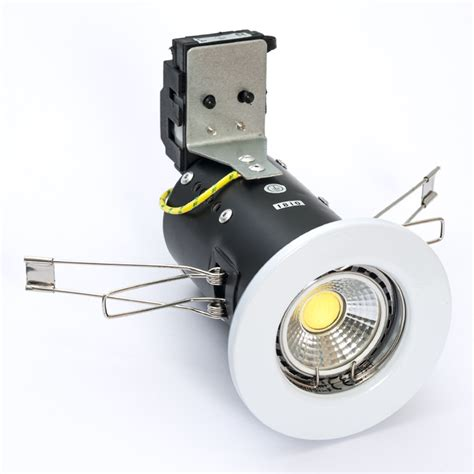 Downlight Kaca Led 5w 3 Cahaya White Cool White Warm White led downlight 5 watt cob dimmable pressed cool or warm white ebay