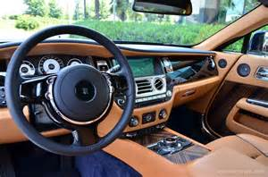 rolls royce wraith interior steering 6 images rolls