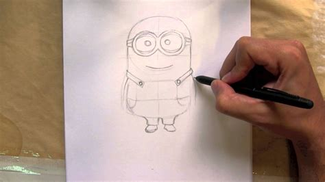 Me Draw Things things to draw how to draw a minion from despicable