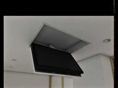staffa tv soffitto tv moving mfcs staffa tv motorizzata da soffitto