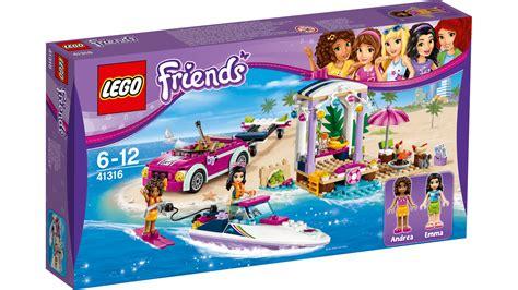 41316 andrea s speedboat transporter products lego - Lego Friends Speedboat