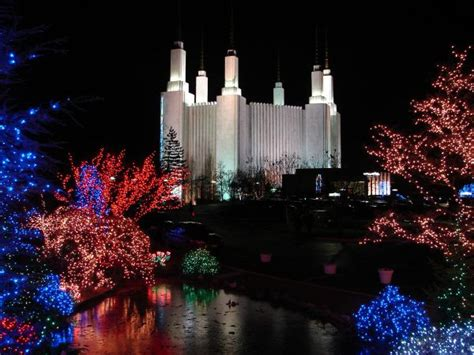 dc mormon temple festival of lights washington dc mormon temple festival of lights pictures
