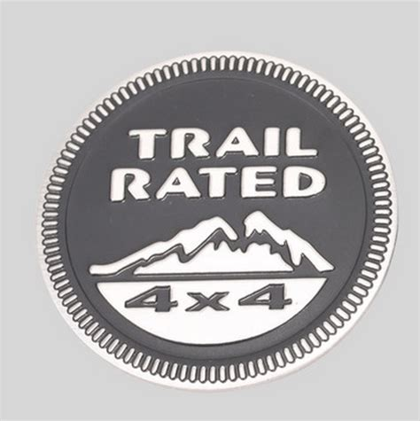 Emblem 200kg trail 4x4 mountain badge emblem grand