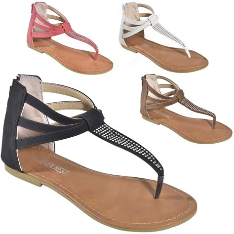 Repeat Trend Gladiator Sandals Also Pockets by S Rhinestone T Ankle Back Zip