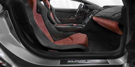 Lamborghini Gallardo Alcantara interior   Alcantara