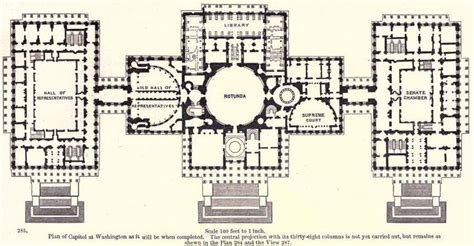 floor plan of the us capitol building proposed floor plan us capitol building 1891