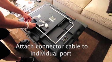 led tv backlighting kit   install youtube