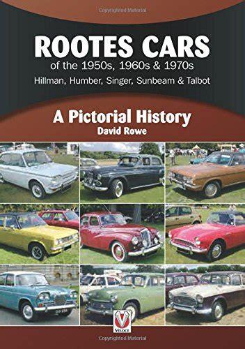 libro rootes cars of the hillman cars industria manufatturiera panorama auto