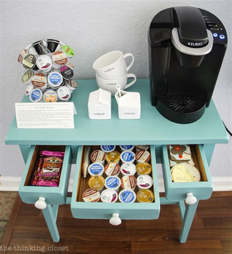 small keurig for desk 20 charming coffee stations to wake up to every morning