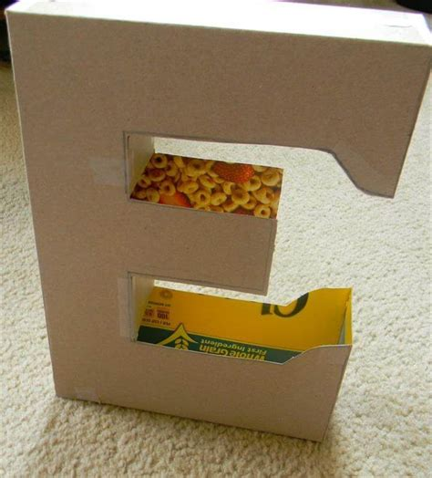 How To Make Letter Box With Paper - 20 amazing eye catching diy letters diy to make