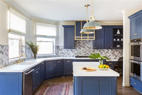 blue tiful kitchen cabinet color ideas hgtv