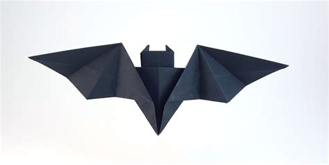 How To Make A Paper Batman Batarang - origami batman page 1 of 2 gilad s origami page