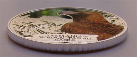 Wedges Gl 999 Silver Tb 1 dollar aigle de tasmanie tuvalu numista