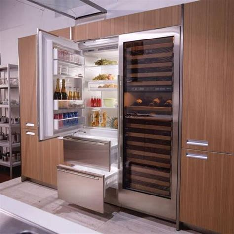 built in refrigerator various types built in refrigerators to make your kitchen
