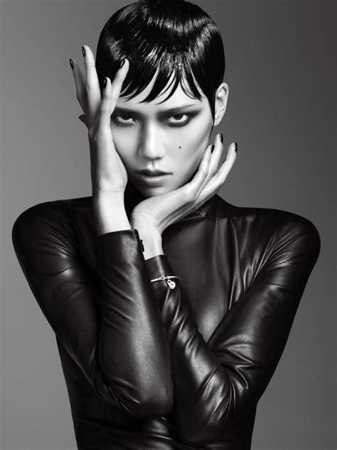 the cover featuring the lovely chinese model shu pei qin fei fei sun tao okamoto shu pei qin liu wen for v magazine