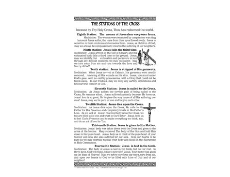 printable images stations of the cross the catholic homeschool society