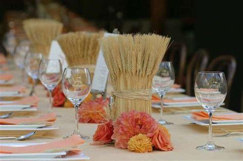 centro de mesa con espigas centros de mesa para primera comuni 243 n ideas para decorar