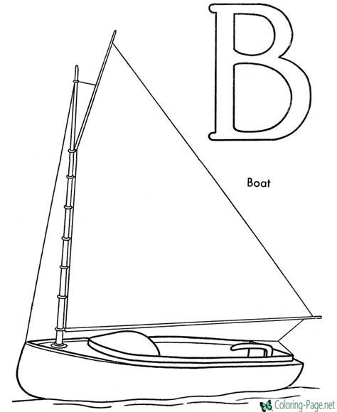 coloring pages with boats boat coloring pages