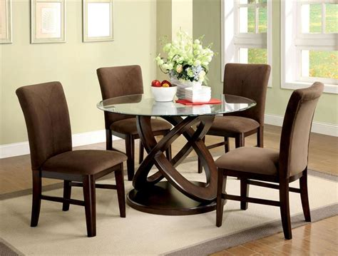 round glass dining room table sets how to decorate your dining room with a round dining table