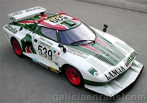 Lancia Stratos Turbo 5 Maniacy Figurek