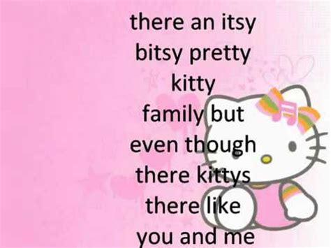 theme song of hello kitty lyrics hello kitty theme song with lyrics youtube