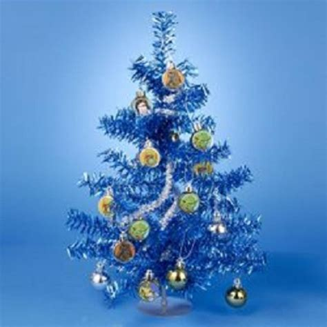 blue mini christmas tree lights how to decorate a silver tinsel christmas tree clic star