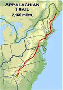 appalachian trail map the dangerous and daring for boys and hiking