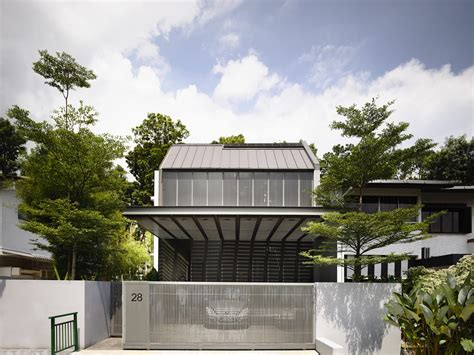 Garden House Design Ideas Malaysia Stylish And Modern Faber Avenue Home By Hyla Architects