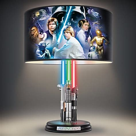 Wars L Shade by Wars Original Trilogy L With Illuminated Lightsabers