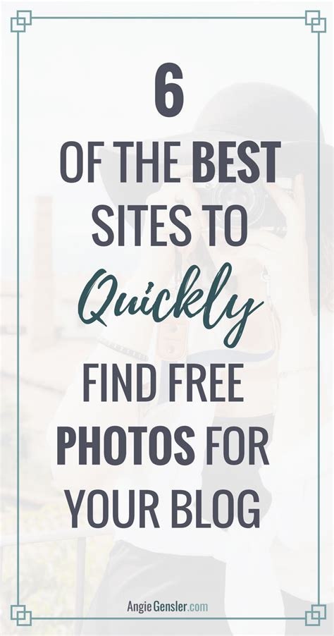 Best Site For Finding 6 Best Websites To Quickly Find Free Images For Your Angie Gensler