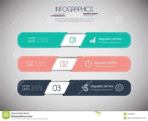 flat layout design set of 3 modern design banners stock photos image 34428563