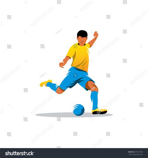 soccer player id cards templates soccer player branding identity corporate vector stock