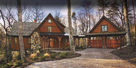 Bungalow Style Homes by Timber Frame Homes By Mill Creek Post Amp Beam Company