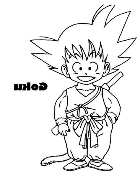 imagenes de goku a color para dibujar imagen de goku para colorear dibujos de