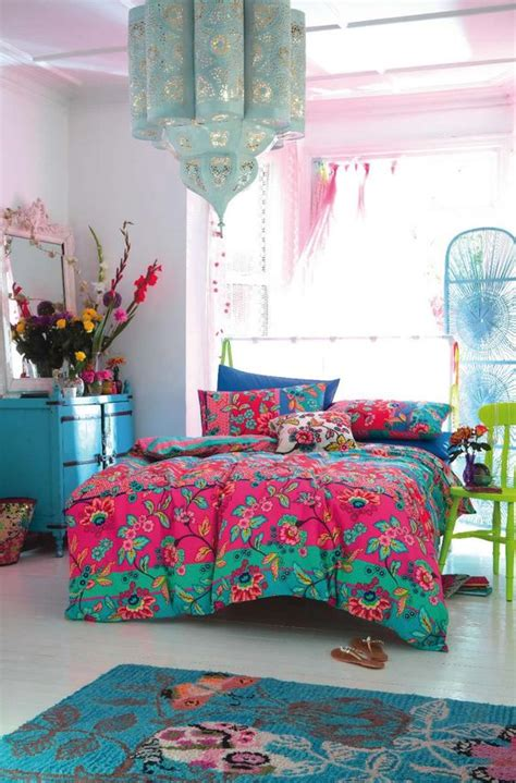 bohemian girls bedroom 1000 ideas about bright colored bedrooms on pinterest