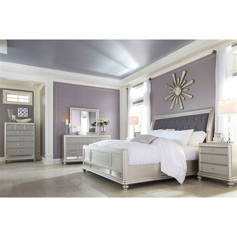 Signature Design By Ashley Coralayne King Bedroom Group Furniture Signature Design Bedroom Set