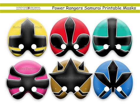 printable power ranger mask template unique power rangers samurai printable holidaypartystar
