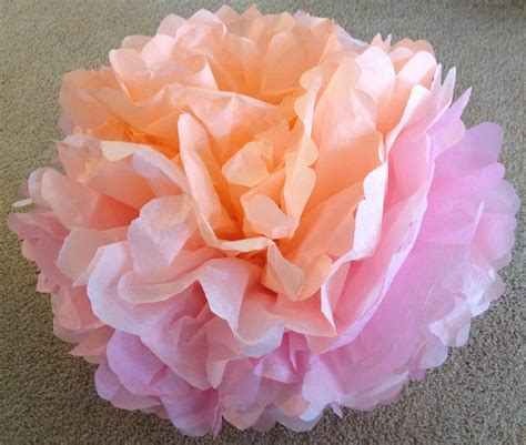 Crafting Paper Flowers - how to make tissue paper flowers craft tutorial s s