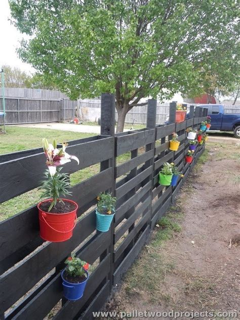 Dog Hooks Decorative Recycled Pallet Fence Plans Pallet Wood Projects