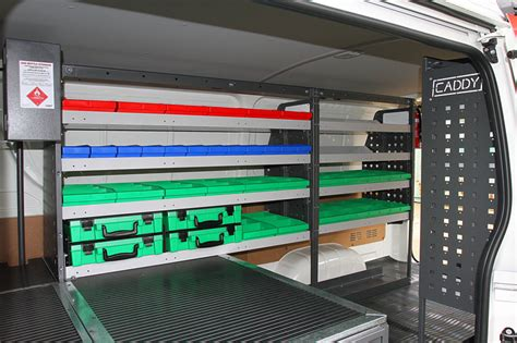 Electrician Van Fit Out   Trade Specific   Caddy Storage