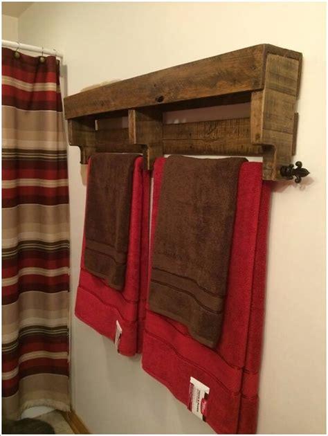 cool diy towel holder ideas   bathroom