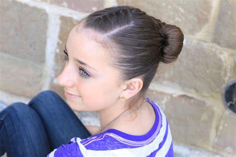 girl hairstyles bun how to create an infinity bun updo hairstyles cute
