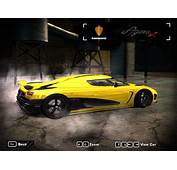Need For Speed Most Wanted Koenigsegg Agera R II  NFSCars