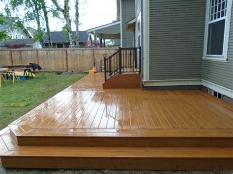 wraparound deck composite deck with wrap around step deck masters llc
