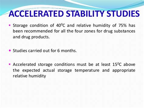 Shelf Accelerated Stability Testing by Seminor On Accelerated Stability Testing Of Dosage Forms Sahil