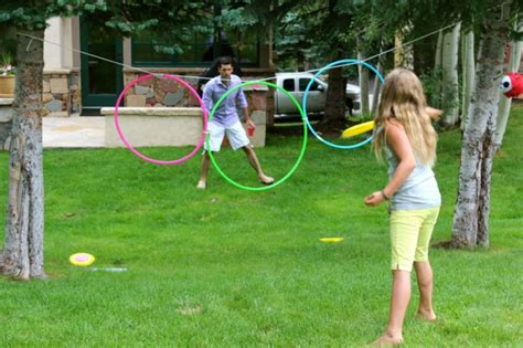 backyard frisbee games 10 super fun outdoor kids games that you can make yourself