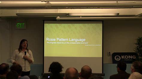 rosie pattern language lua workshop 2016 regex considered harmful use rosie