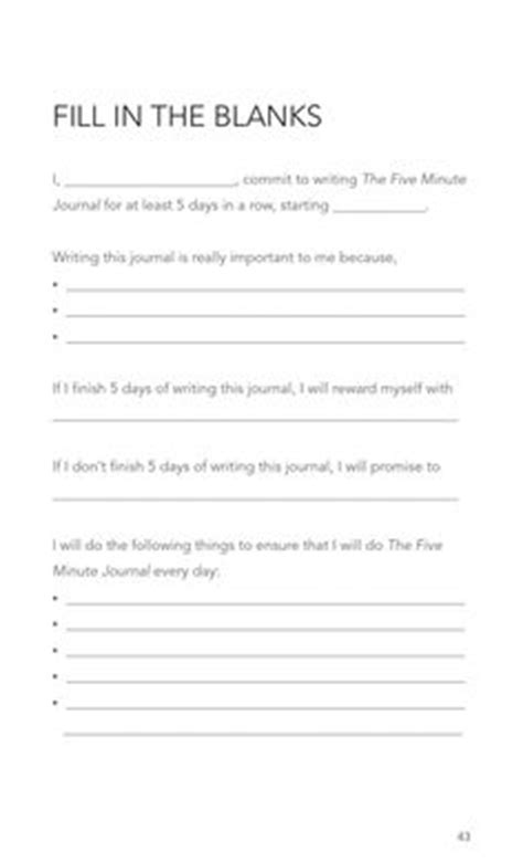 The 5 Minute Journal Template Google Search More Bullet Journaling Pinterest The Five 5 Minute Journal Template