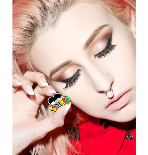 Robot Pin From Lazy Oaf by Lazy Oaf So Tired Pin Badge Dolls Kill
