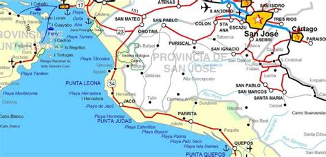 san jose driving directions san jose jungle map 28 images driving directions to